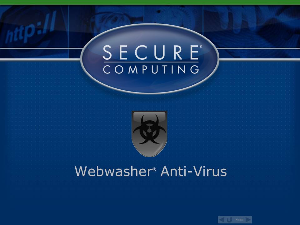 Home Webwasher ® Anti-Virus