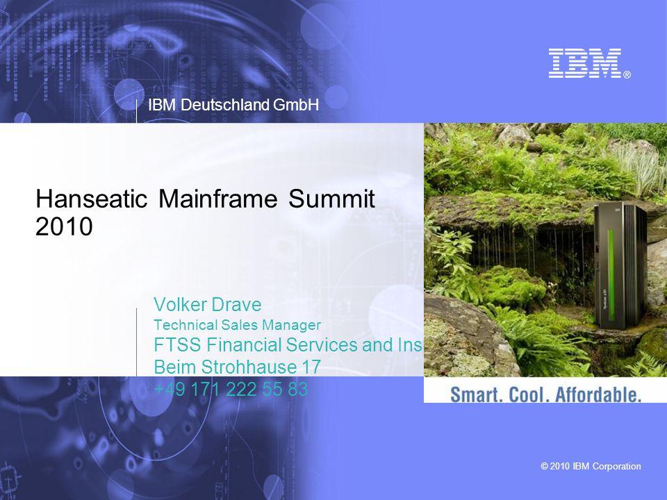 © 2010 IBM Corporation42 Mainframe Summer University @ IBM R&D Boeblingen 23 August – 03 September 2010 APPLY NOW (deadline 31 July)!.