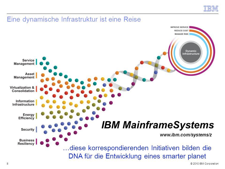 © 2010 IBM Corporation29 IBM System z Academic Initiative Companies worldwide rely on the leading-edge IBM System z platform.