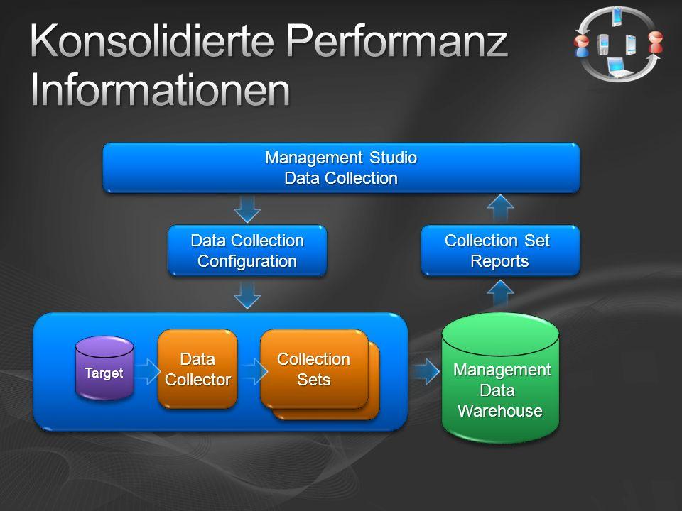 Standardberichte Für Benutzerdatenbanken Je Datensammlung Disk usage Query statistics Server activity Benutzerdefinierte Berichte