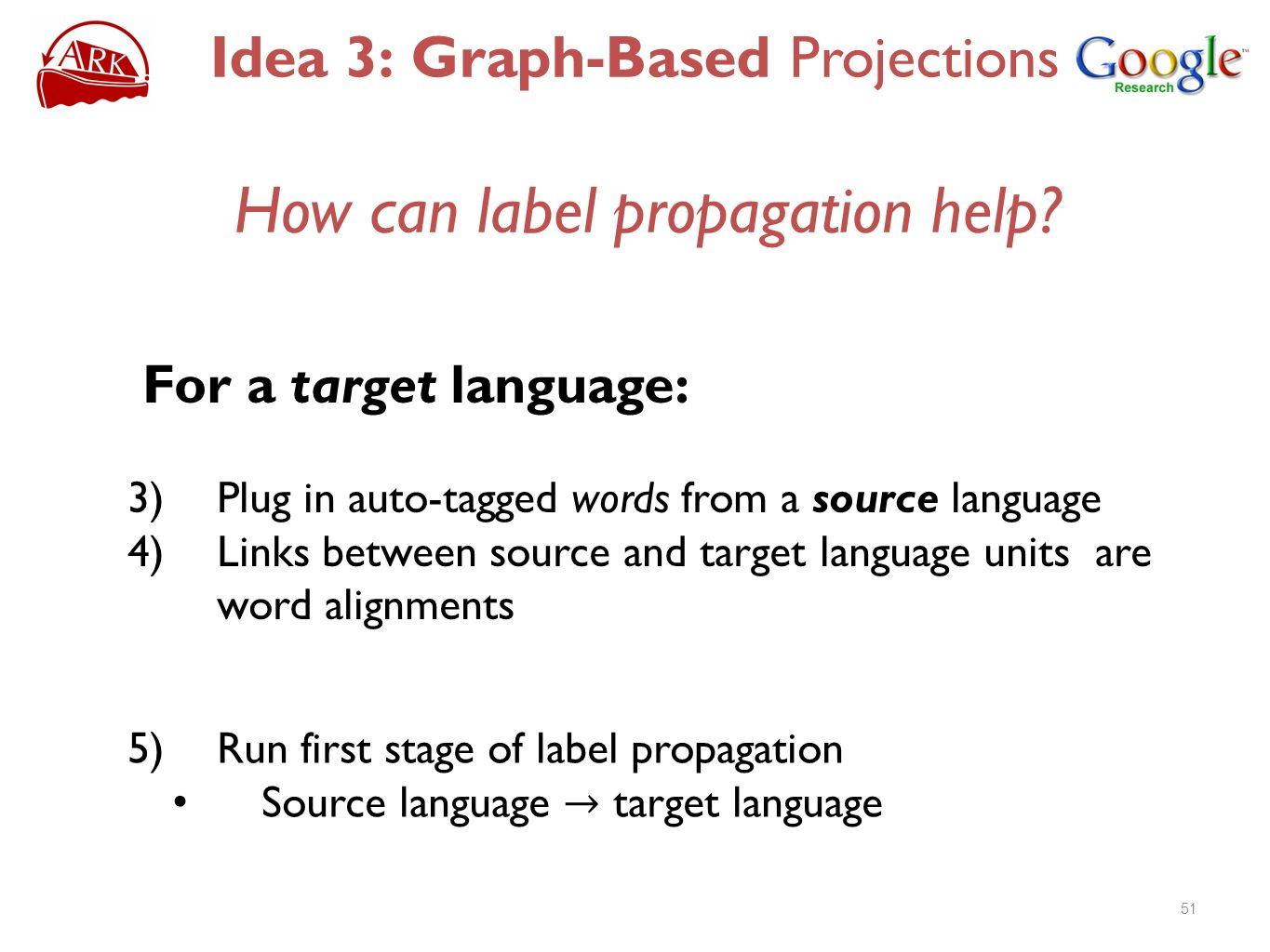 How can label propagation help.