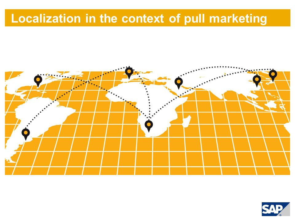Localization in the context of pull marketing