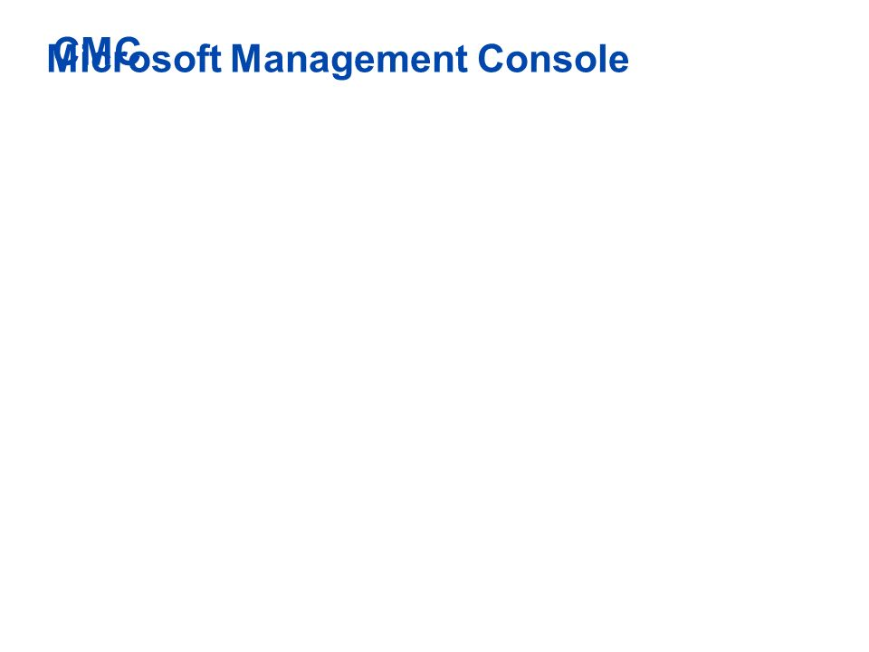 26 Microsoft Management Console Plug-in in die MMC Bisher: Access Suite Console Jetzt: Access Management Console Die meisten Einstellungen sind nun in der Access Management Console Still configured in CMC: Printing Policies Load Manager Installation Manager In der Advanced Edition enthaltenIn der Enterprise Edition enthaltenIn der Platinum Edition enthalten CMC