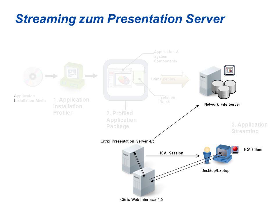 47 Citrix Presentation Server 4.5 © 200 6 Citri x Sys tem s, Inc.