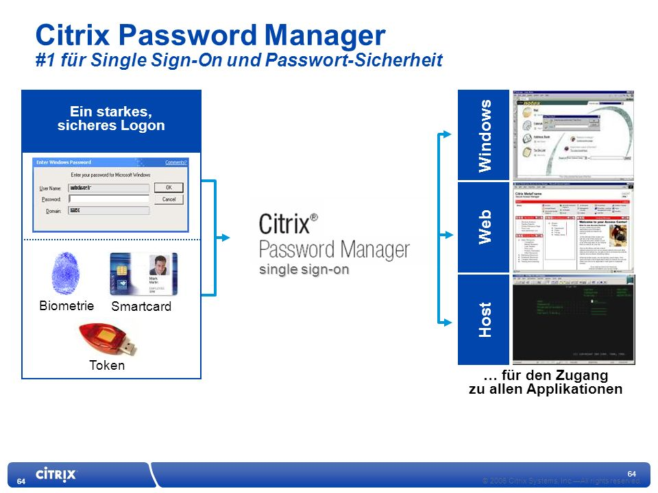 64 © 2006 Citrix Systems, Inc.All rights reserved.