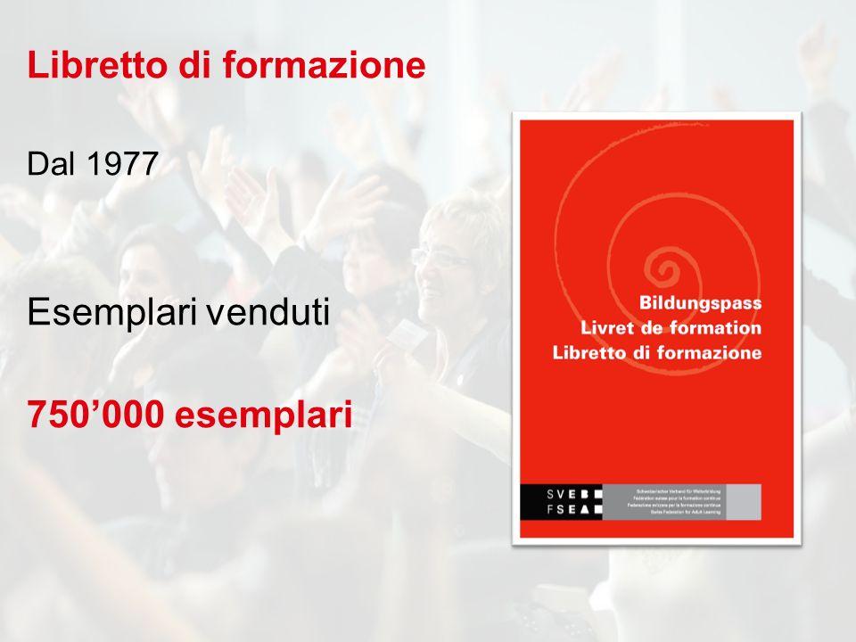 Libretto di formazione Dal 1977 Esemplari venduti 750000 esemplari