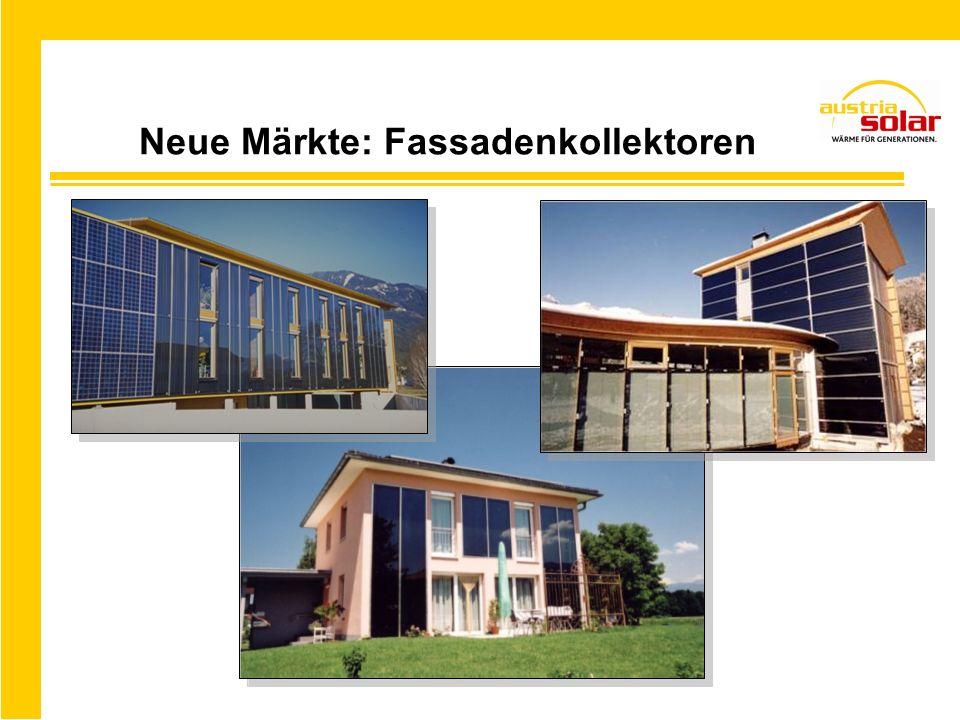 Innovationen: Großflächenkollektor Mehr als 300 m² in nur einem Tag verlegt! (Bsp. MFH in Linz)