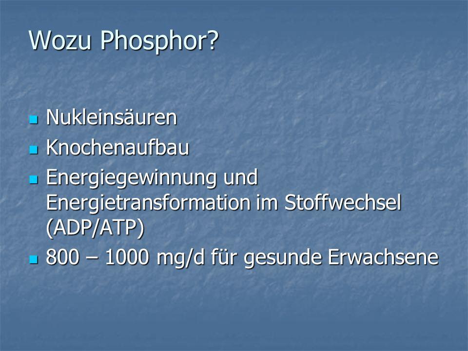Wozu Phosphor.