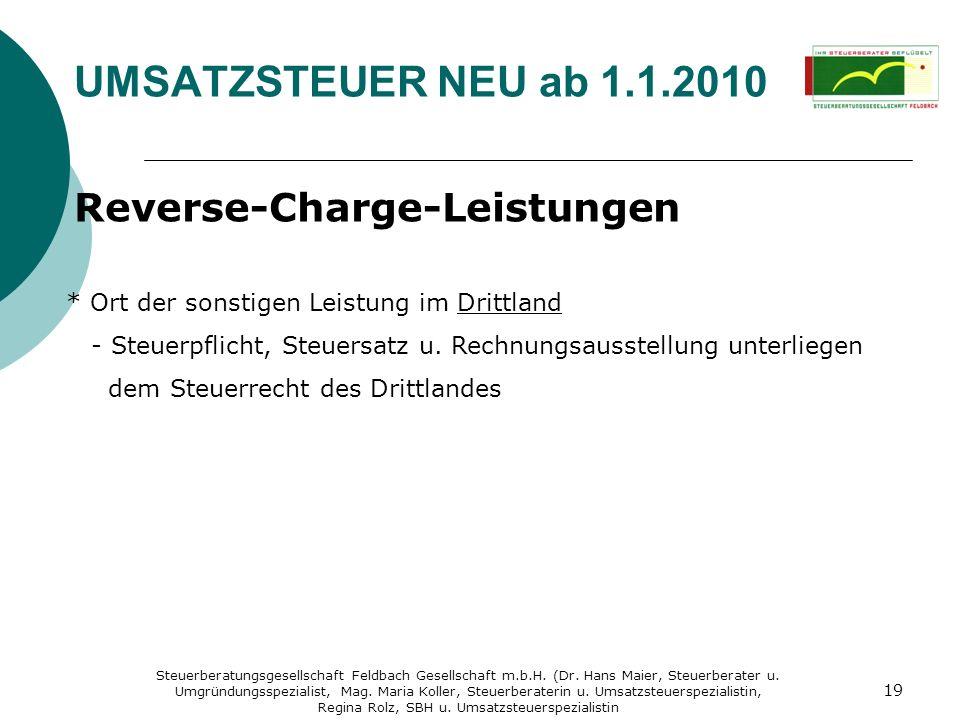 Steuerberatungsgesellschaft Feldbach Gesellschaft m.b.H. (Dr. Hans Maier, Steuerberater u. Umgründungsspezialist, Mag. Maria Koller, Steuerberaterin u