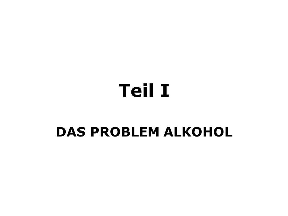 Teil I DAS PROBLEM ALKOHOL