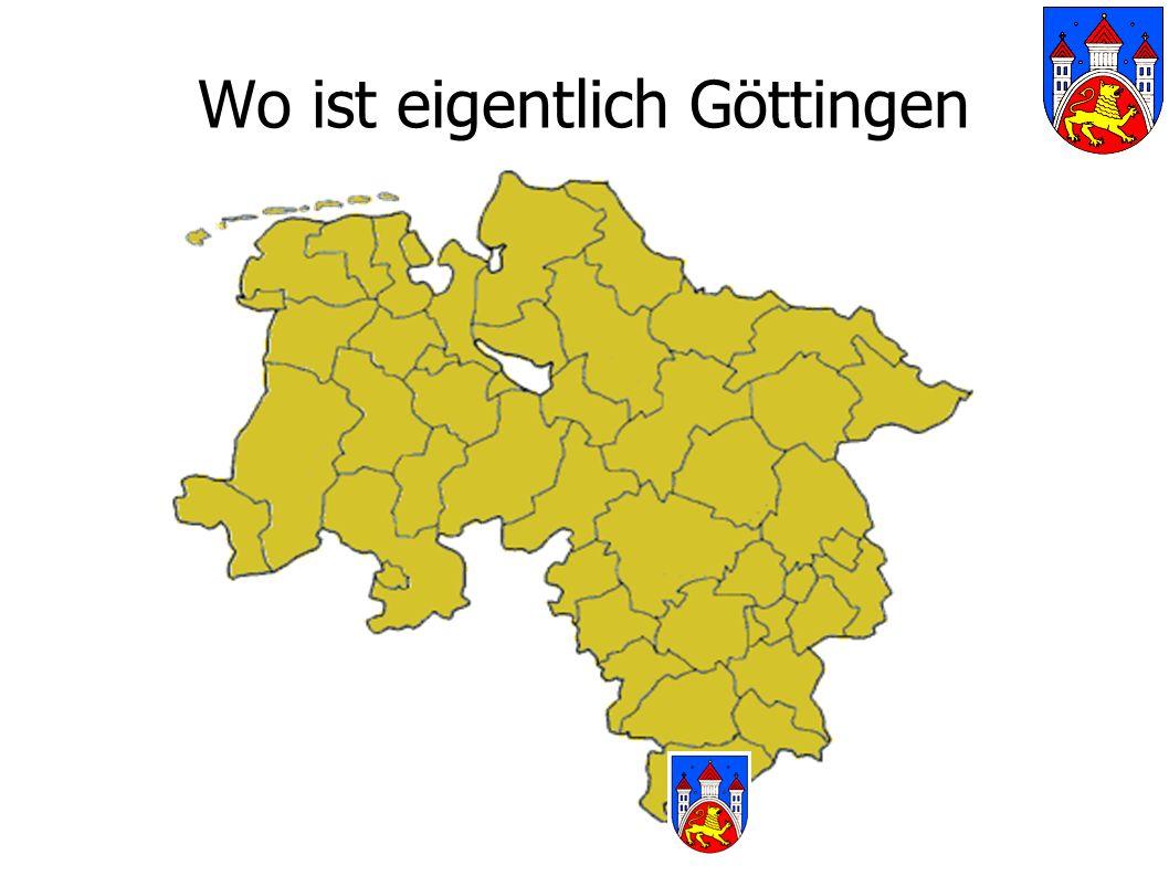 Wo ist eigentlich Göttingen