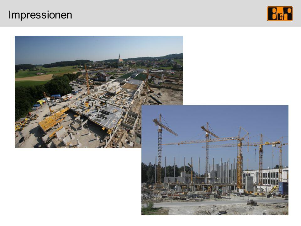 Baustelle September 2008