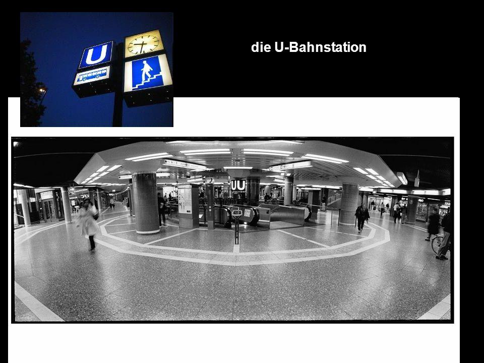 die U-Bahnstation