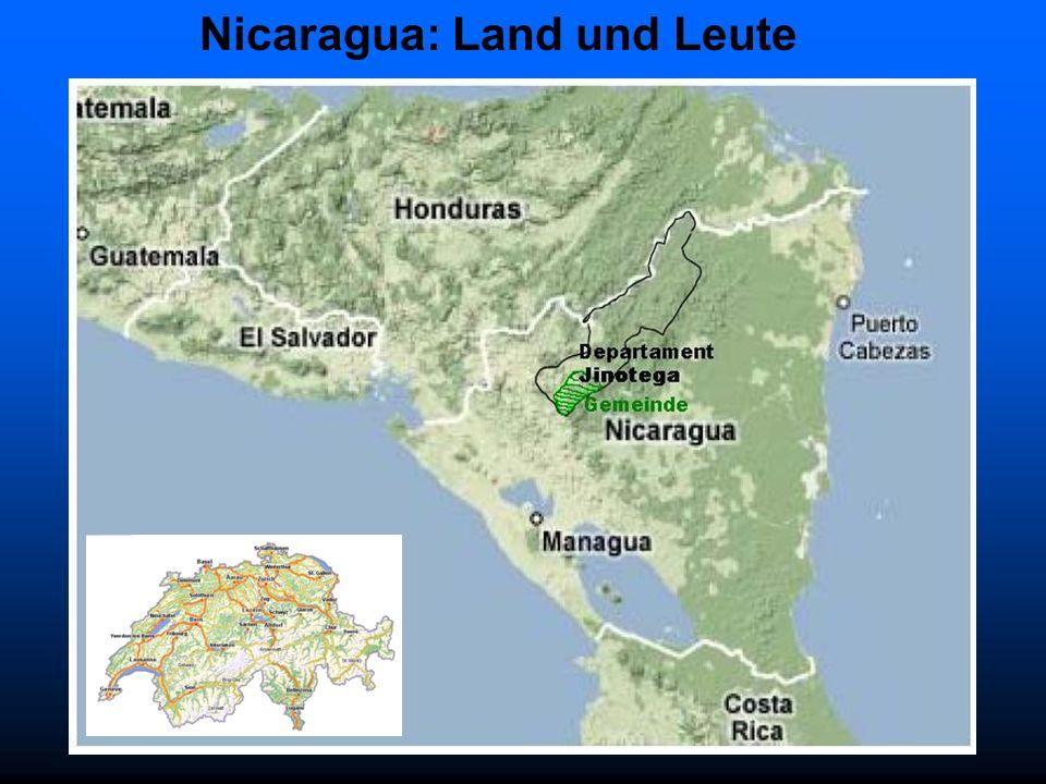Nicaragua: Land und Leute