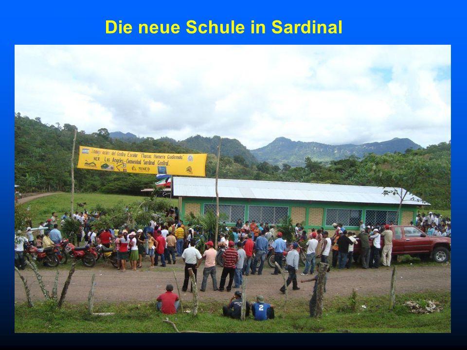 Die neue Schule in Sardinal