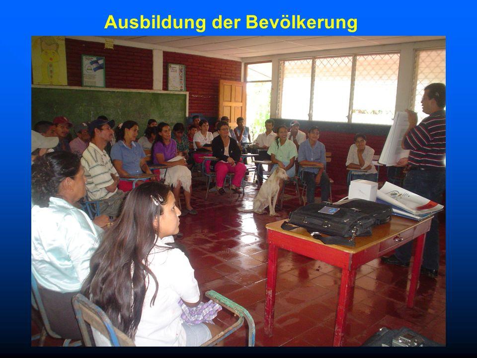 Ausbildung der Bevölkerung