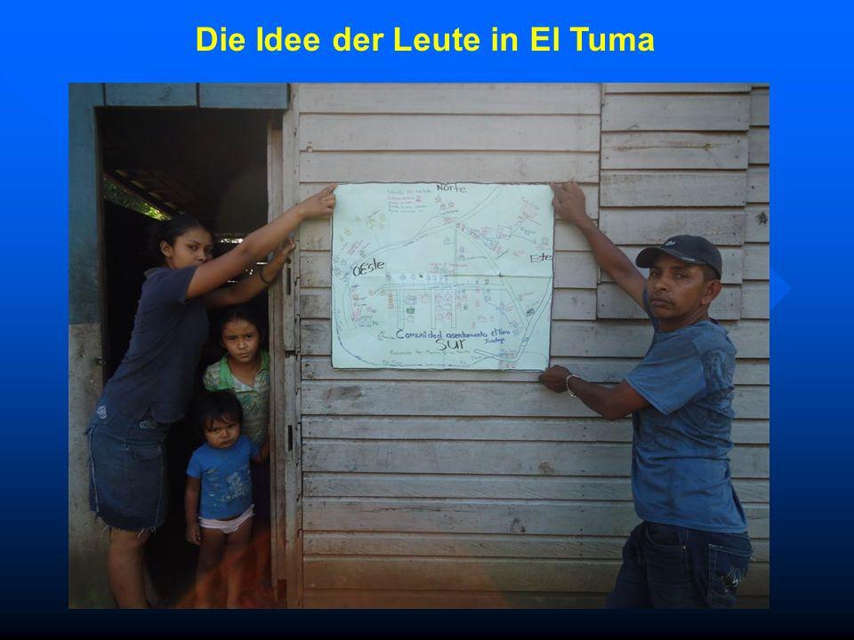 Die Idee der Leute in El Tuma