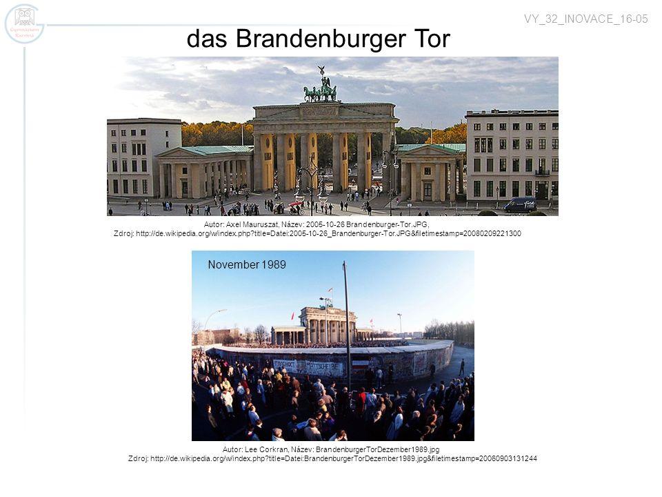 Autor: Andreas Praefcke, Název: Berlin Fernsehturm 2005.jpg, Zdroj: http://de.wikipedia.org/w/index.php?title=Datei:Berlin_Fernsehturm_2005.jpg&filetimestamp=20050702170202 der Fernsehturm auf dem Alexanderplatz früher das Zentrum von Ostberlin öffentlich zugänglich die gesamthöhe 368 m die Aussichtsplattform mit dem Restaurant in der Höhe von 207 m gebaut 1969 VY_32_INOVACE_16-05