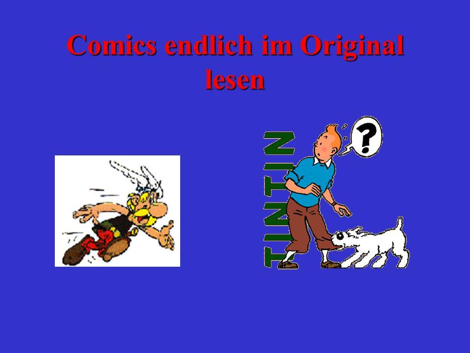 Comics endlich im Original lesen