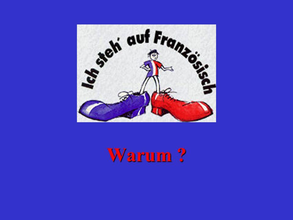Französisch bietet Dir bessere Berufschancen Englisch allein reicht heute nicht mehr aus