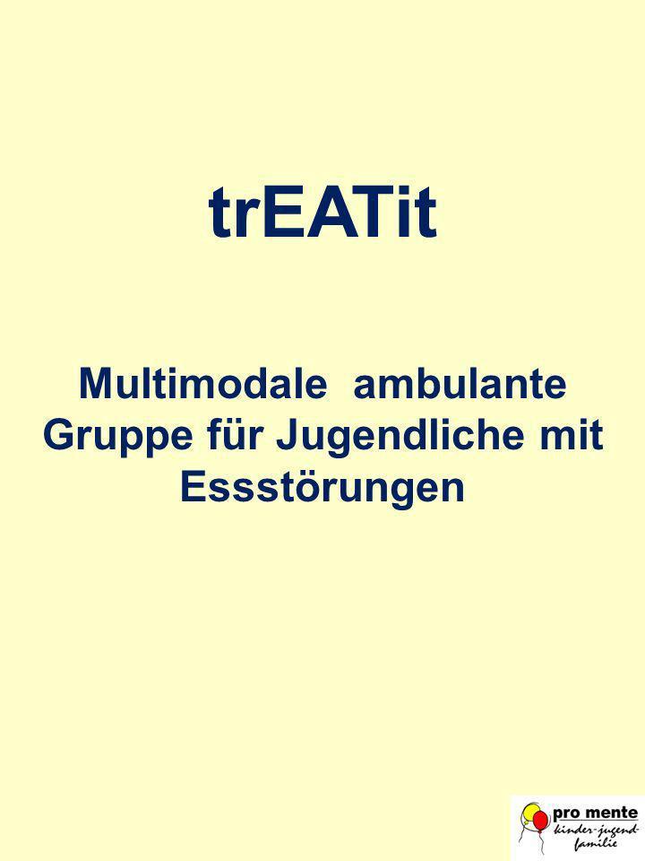 trEATit Multimodale ambulante Gruppe für Jugendliche mit Essstörungen