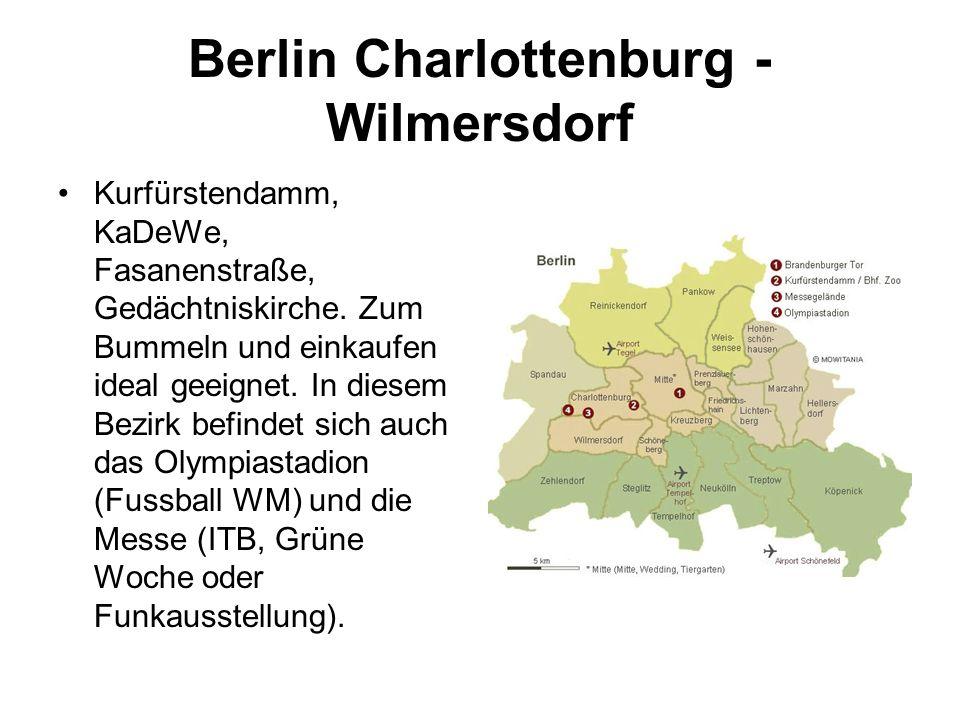 Berlin Charlottenburg - Wilmersdorf Kurfürstendamm, KaDeWe, Fasanenstraße, Gedächtniskirche.