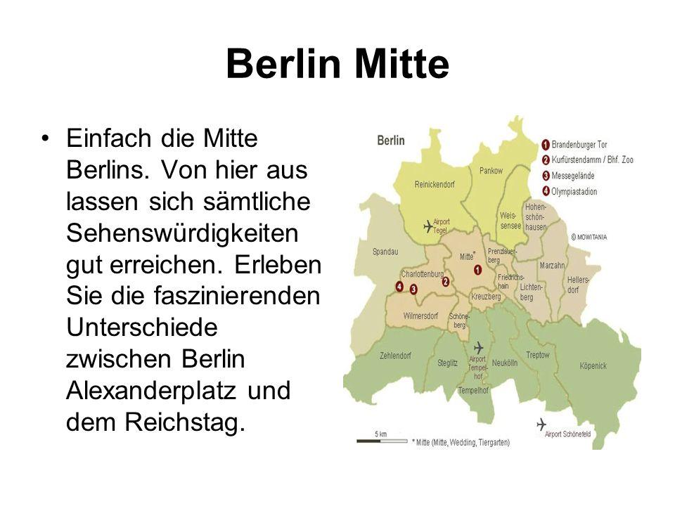 Berlin Mitte Einfach die Mitte Berlins.
