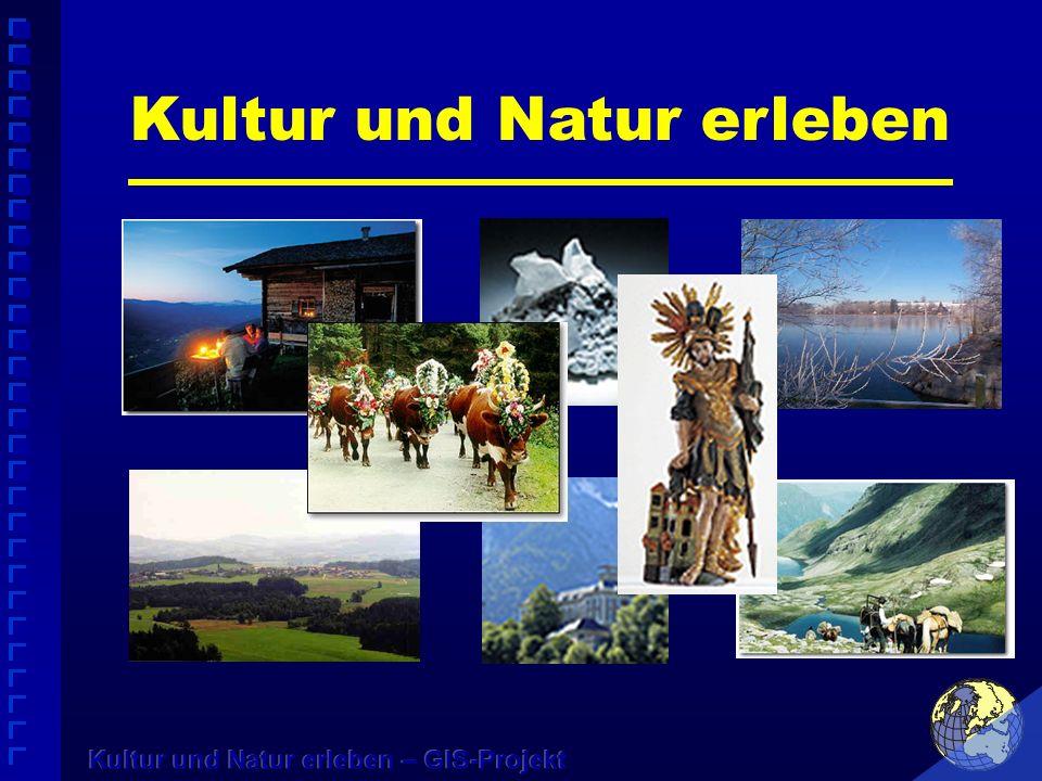 Konzept zur Belebung des Tourismus im Bezirk Liezen Folgende Ziele werden verfolgt: Zugang zu einem Kultur- und Naturerlebnis für die ganze Familie Freizeitgestaltung attraktiv anbieten Ökologie und Ökonomie in unser Heimat nutzen Erhaltung unseres Lebensraumes Weiterbildung