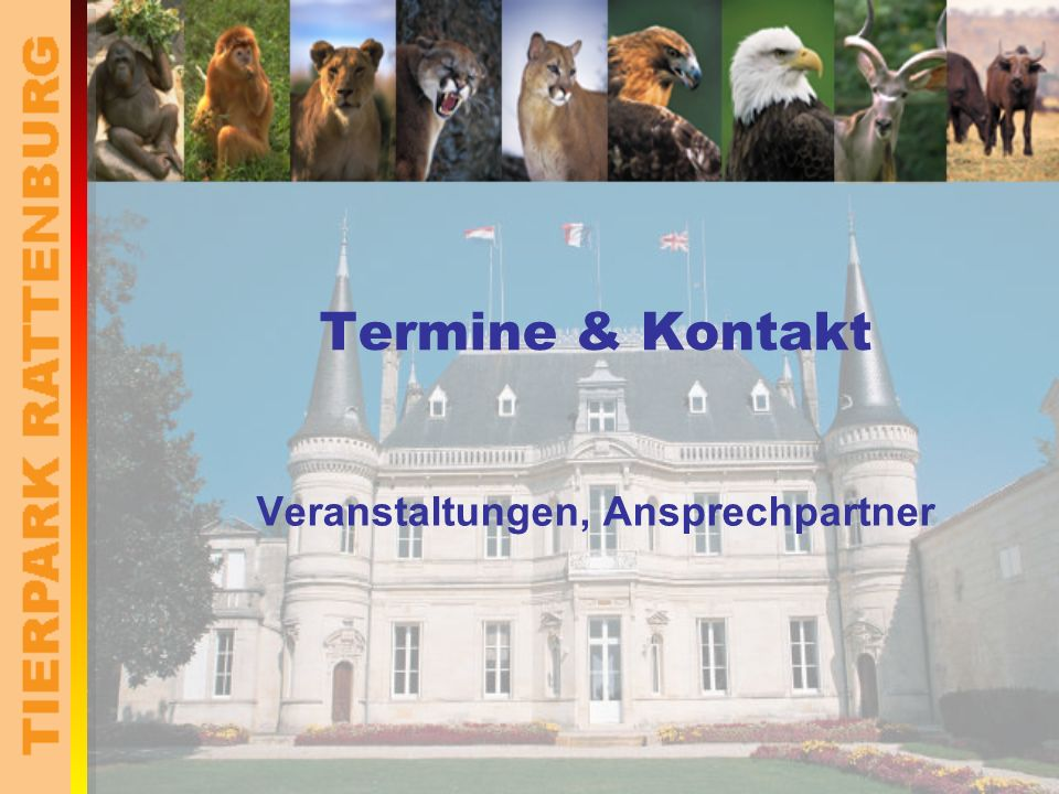TIERPARK RATTENBURG Investitionen