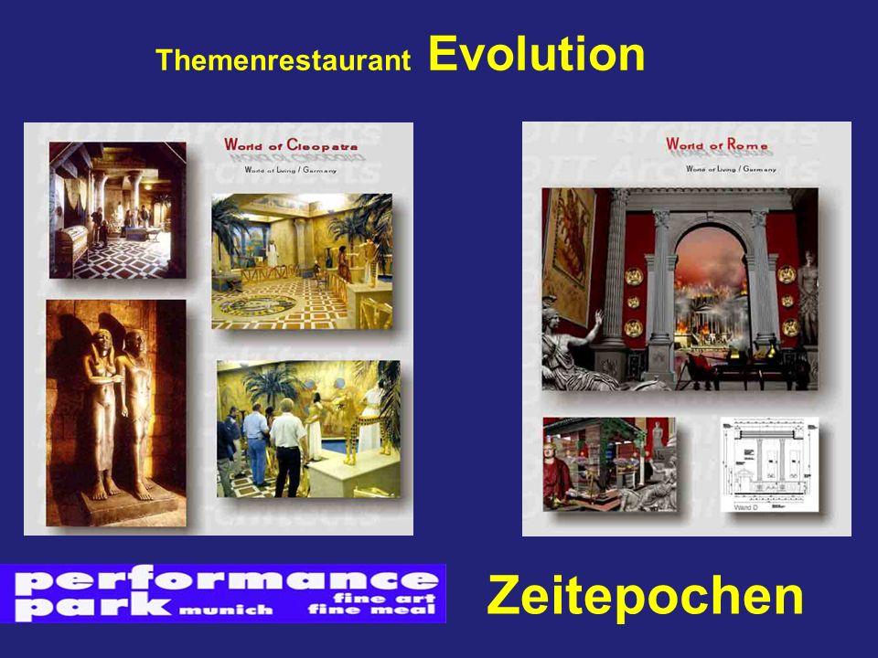 Zeitepochen Themenrestaurant Evolution
