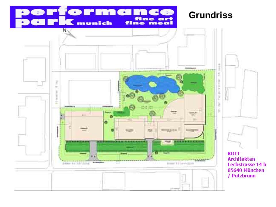 Grundriss KOTT Architekten Lechstrasse 14 b 85640 München / Putzbrunn