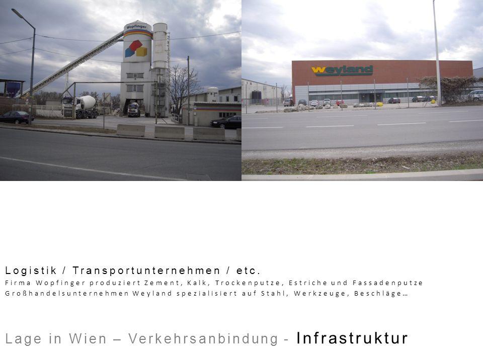 Logistik / Transportunternehmen / etc. Firma Wopfinger produziert Zement, Kalk, Trockenputze, Estriche und Fassadenputze Großhandelsunternehmen Weylan