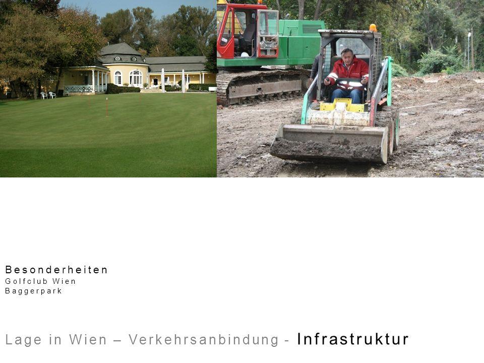 Besonderheiten Golfclub Wien Baggerpark