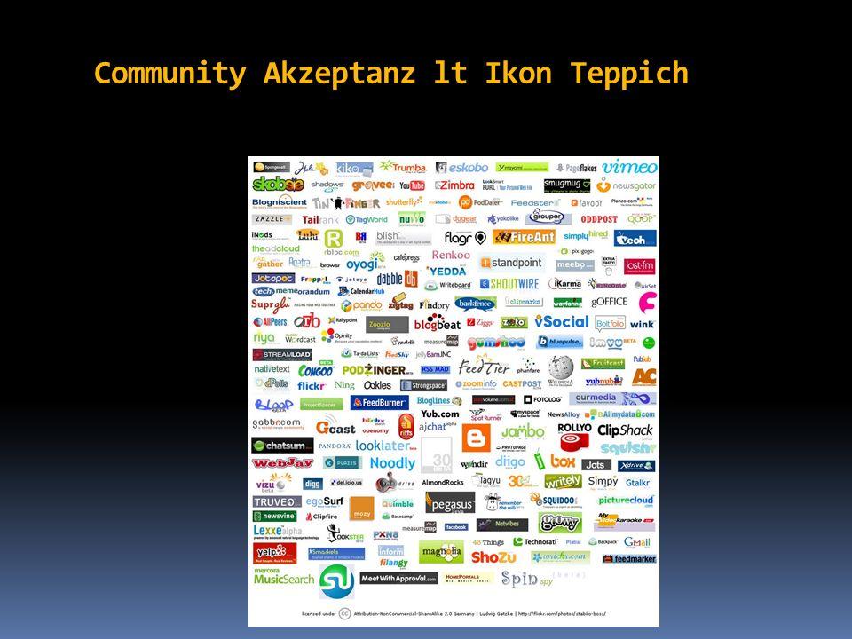 Community Akzeptanz lt Ikon Teppich
