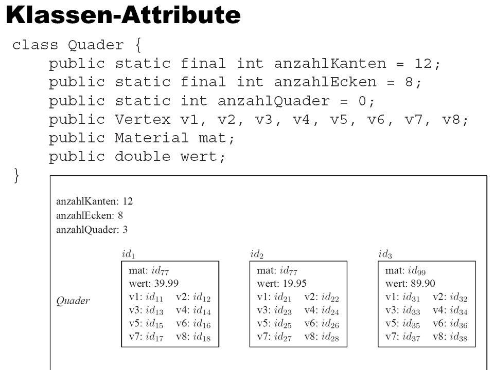 Klassen-Attribute 35