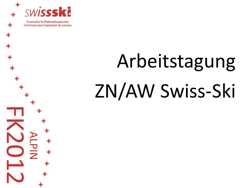 Arbeitstagung ZN/AW Swiss-Ski