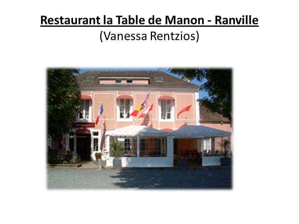 Restaurant la Table de Manon - Ranville (Vanessa Rentzios)