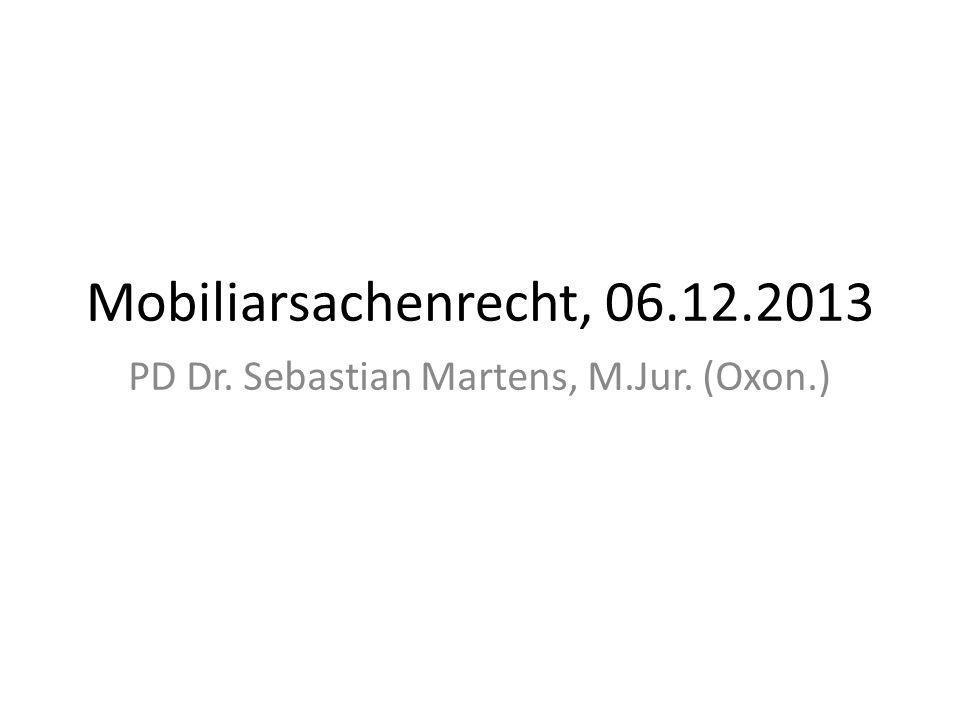 f.Der Fruchterwerb nach den §§ 953 ff. BGB i.Regelungszweck und Systematik Die §§ 953 ff.