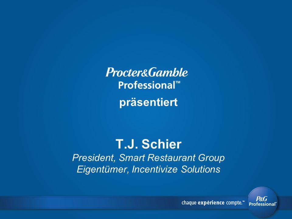 präsentiert T.J. Schier President, Smart Restaurant Group Eigentümer, Incentivize Solutions