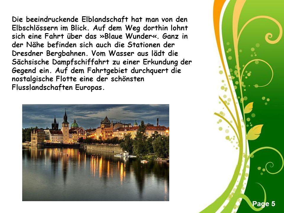 Free Powerpoint Templates Page 4 Geschichte und Zukunft liegen auch im Stadtteil Hellerau dicht beieinander.