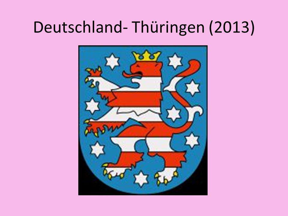 Deutschland- Thüringen (2013)