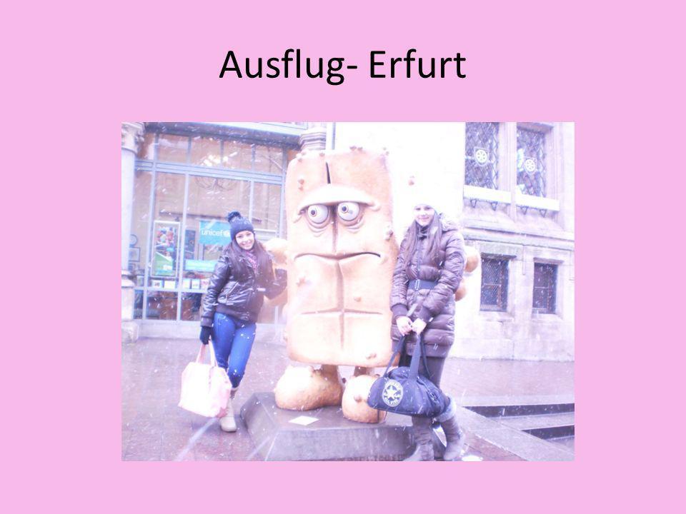 Ausflug- Erfurt