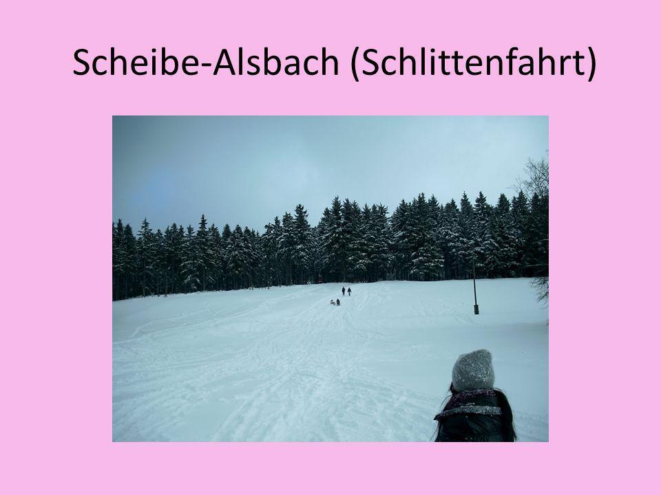 Scheibe-Alsbach (Schlittenfahrt)