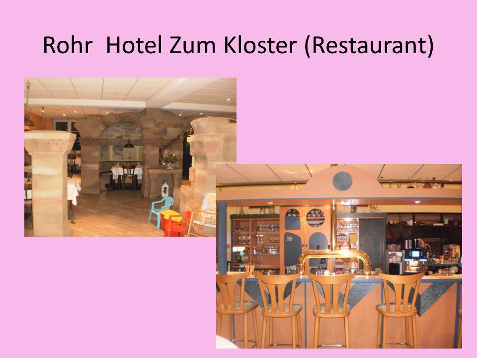 Rohr Hotel Zum Kloster (Restaurant)