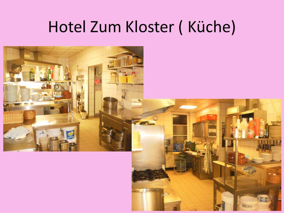 Hotel Zum Kloster ( Küche)