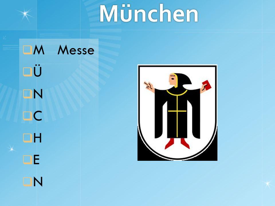 München M Messe Ü N C H E N
