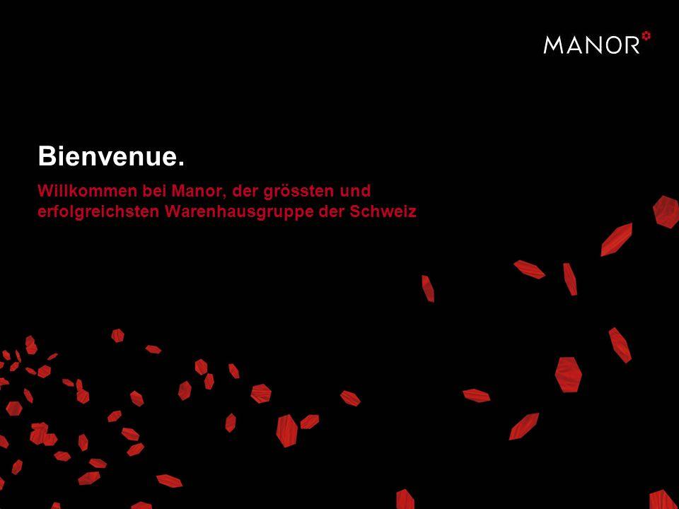Willkommen bei Manor, der grössten und erfolgreichsten Warenhausgruppe der Schweiz Bienvenue.