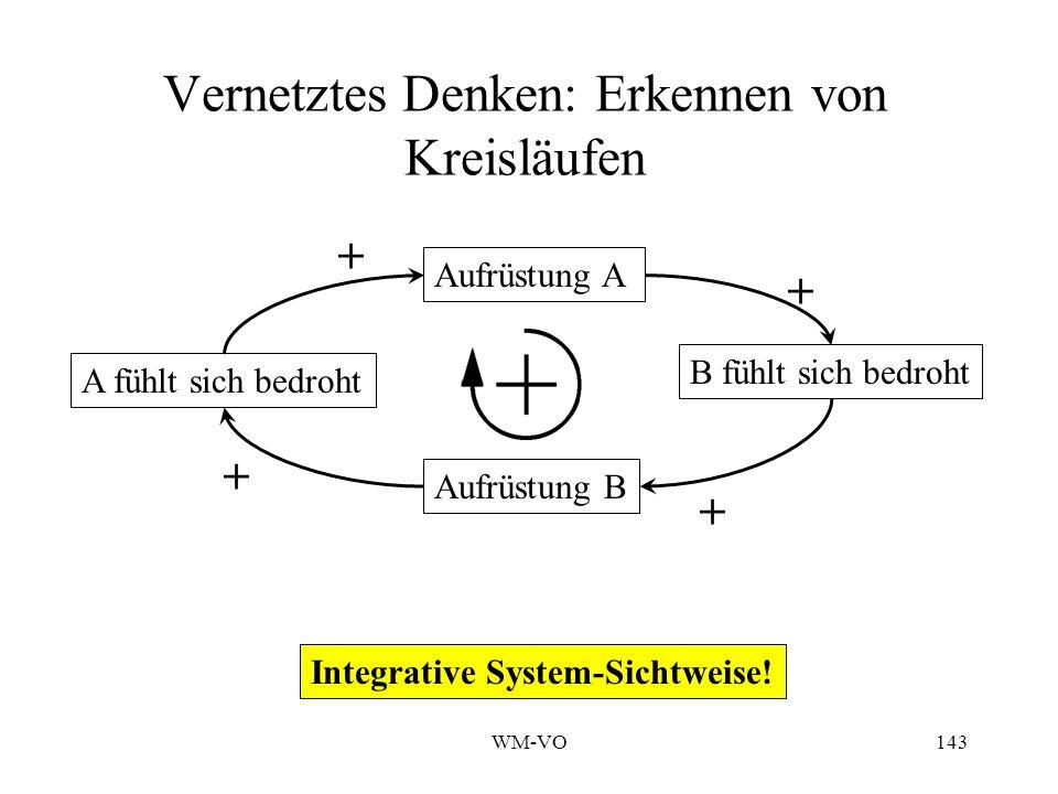 WM-VO143 Vernetztes Denken: Erkennen von Kreisläufen Integrative System-Sichtweise.