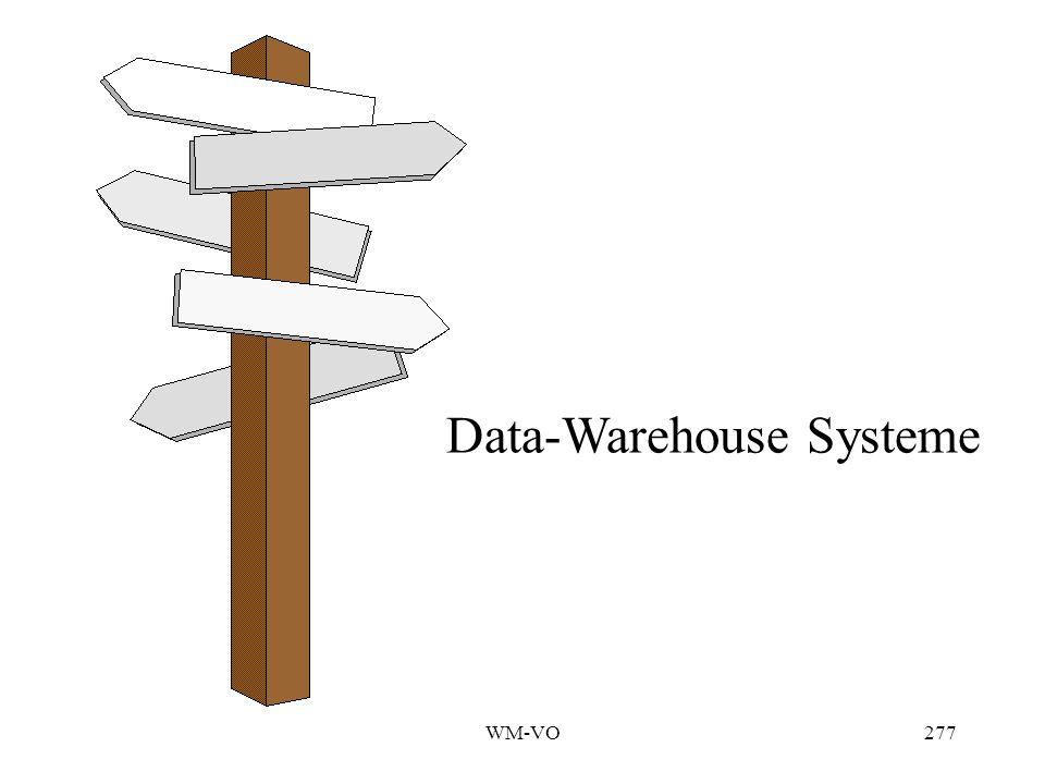 WM-VO277 Data-Warehouse Systeme