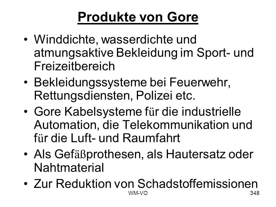 WM-VO348 Produkte von Gore Winddichte, wasserdichte und atmungsaktive Bekleidung im Sport- und Freizeitbereich Bekleidungssysteme bei Feuerwehr, Rettungsdiensten, Polizei etc.